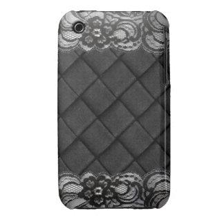 Black Lace iPhone 3 Case-Mate Case