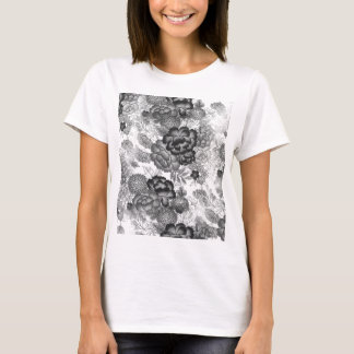 Black Lace T-Shirt