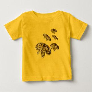 Black Laced Butterflies Tees