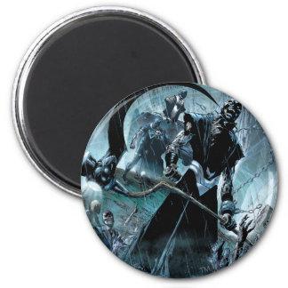 Black Lantern Corps Panel Magnet