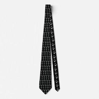 Black_Lawn_Bowls_Pattern,_ Tie