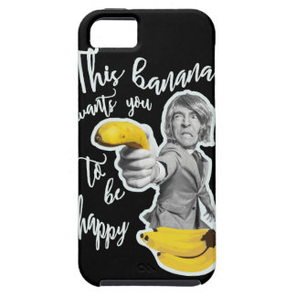 Black layer this banana wants that you are happy tough iPhone 5 case