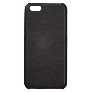 Black Leather 2 iPhone 5C Cover