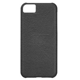 Black Leather iPhone 5C Case