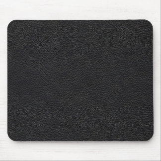 Black Leather Texture Mouse Pad