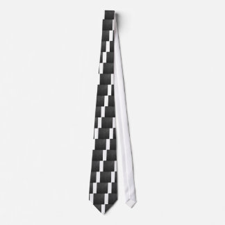Black Leather Tie