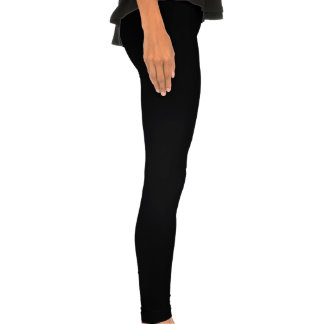 black & legging