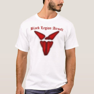 Black Legion Shirt (White), Black Legion Airsoft