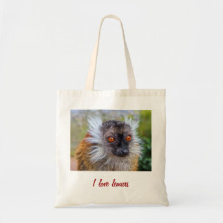 Black lemur bag