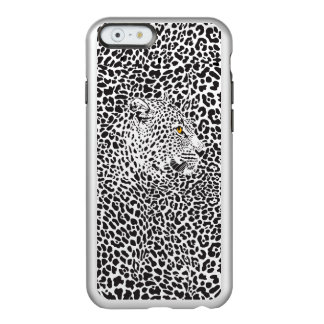Black Leopard Camouflaged In Spots Incipio Feather® Shine iPhone 6 Case