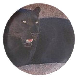 Black Leopard Plate