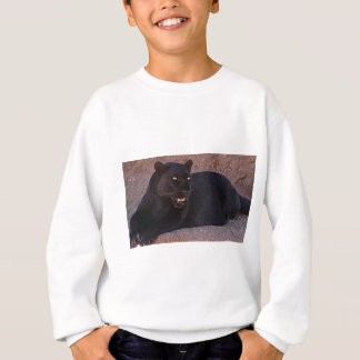 Black Leopard Sweatshirt