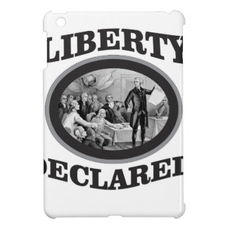 black liberty declared case for the iPad mini