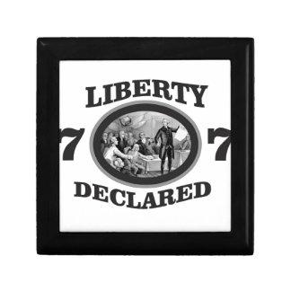 black liberty declared gift box