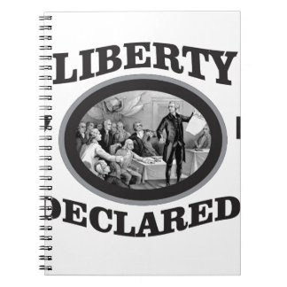 black liberty declared notebooks