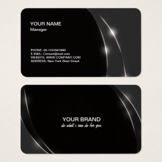 Black Light Business Card