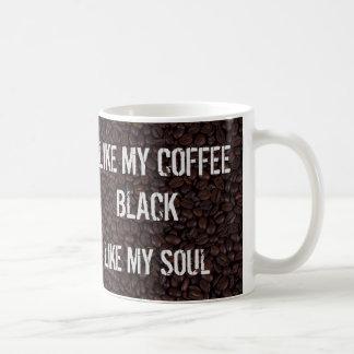 Black Like My Soul Coffee Mug