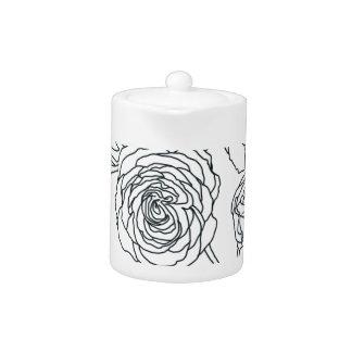 Black lined Rose Bouquet