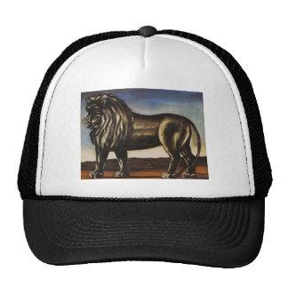 Black Lion by Niko Pirosmani Trucker Hats
