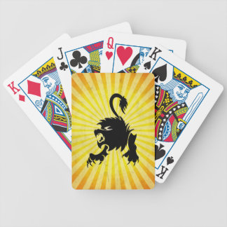 Black Lion; Leo Poker Deck