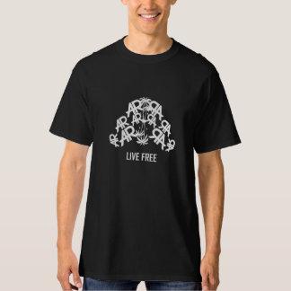 Black Live Free & Self-Made AR T-Shirt