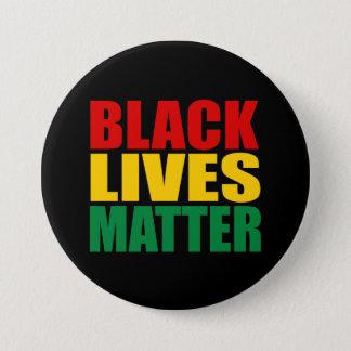"""BLACK LIVES MATTER"" 3-inch 7.5 Cm Round Badge"