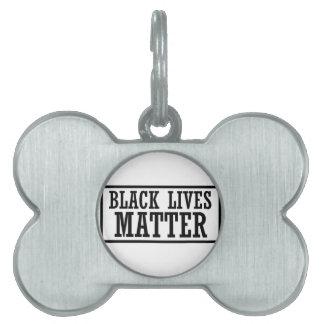 Black Lives Matter - Bold Design - Black Pride Pet Tag