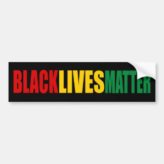 """BLACK LIVES MATTER"" BUMPER STICKER"