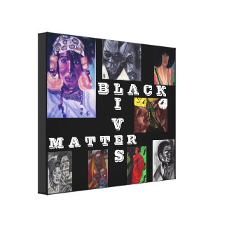 BLACK LIVES MATTER canvas