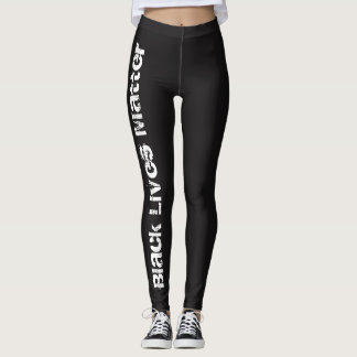 Black Lives Matter Simple Leggings