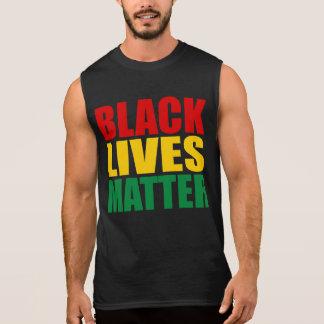 """BLACK LIVES MATTER"" SLEEVELESS SHIRT"
