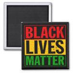 """""""BLACK LIVES MATTER"""" SQUARE MAGNET"""