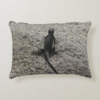 Black Lizard Decorative Cushion