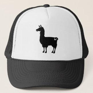 Black Llama Cap