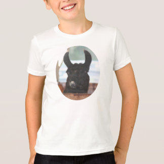 Black Llama Face Farm Animal T-Shirt