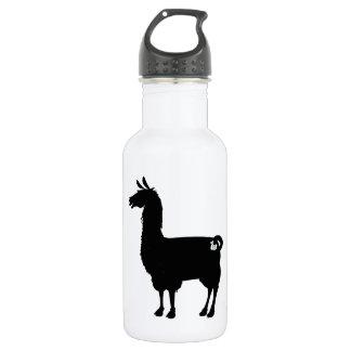 Black Llama Water Bottle 532 Ml Water Bottle