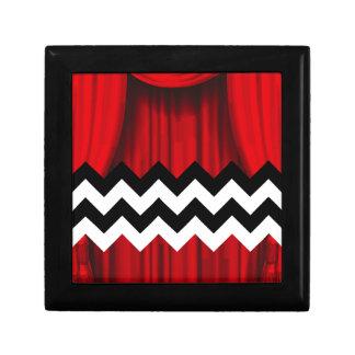 black lodge chevron gift box