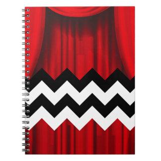 black lodge chevron notebooks