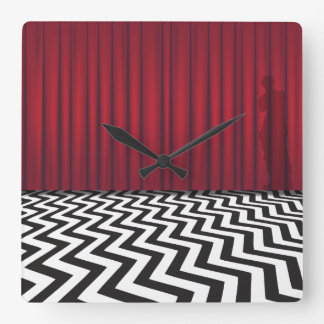 Black Lodge Red Room Clock