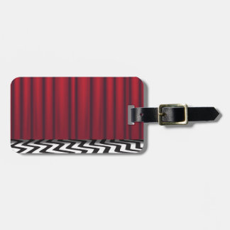 Black Lodge Red Room Luggage Tag