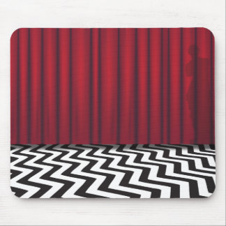 Black Lodge Red Room Mouse Pad