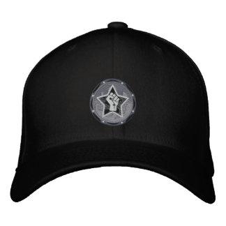 black logo VR hat