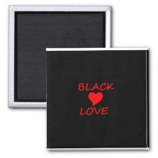 BLACK LOVE MAGNET