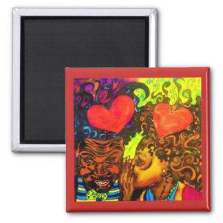 Black Love Poster Magnet