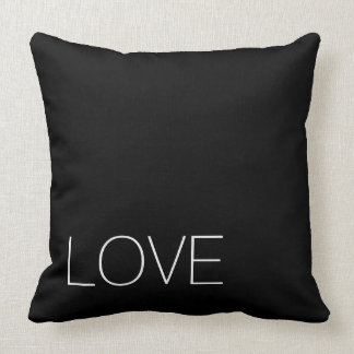 Black Love-The black series Throw Pillow