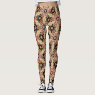 Black lower Kaleidoscope Leggings