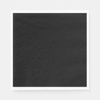 Black Luncheon Paper Napkin