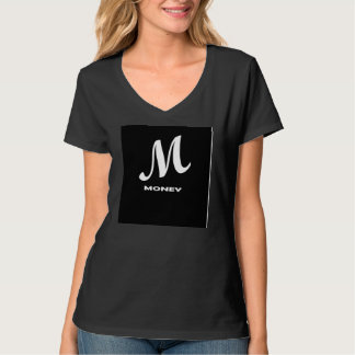 black m-money t-shirt women