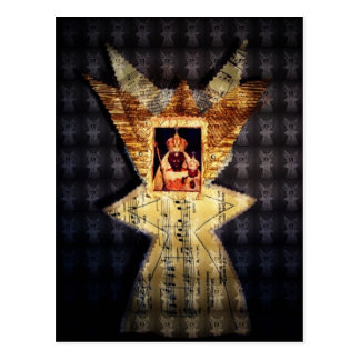 Black Madonna Postcard