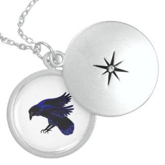 Black magic dancing locket necklace